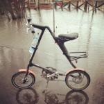 Парковка в воде