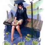 Девочка со стрекозами