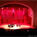 Tarja Turunen в Москосвкой Коснерватории на закате