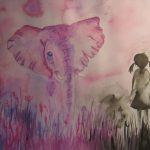 Вот и все, розовый слон