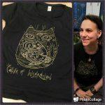 3/33 футболки: шаманокот призывающий вдохновение