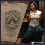 7/33 футболки: колониальная бирюза hard rock cafe