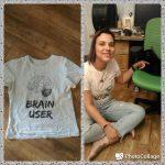 28/33 футболки: brain user