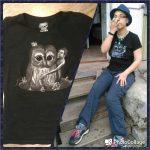 32/33 футболки: здоровенная сова
