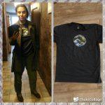 44/33 футболки: Ктулху на полотнах Хокусая