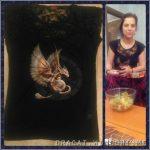 45/33 футболки: стимпанк-дракон