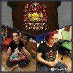 47/33 футболки: Christmas Fhtagn!